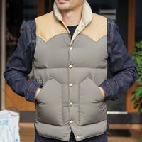 Rocky Mountain Fetherbed Down Vest #200-192-01(Olive)