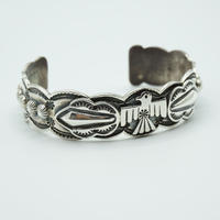 Indian Jewelry NAVAJO Bangle by Sunshine Reeves