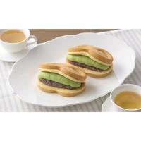 銀座コージーコーナー/スフレワッフル(宇治抹茶&おぐら)