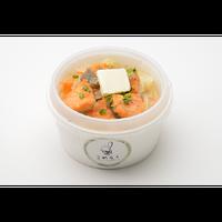 こめらく 和のスープとお茶漬けと。/鮭のちゃんちゃん焼きごはん(北海道)