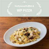 WP PIZZA(ウルフギャングパック ピッツァ)/ファルファッレ グリルチキンとキノコのクリームソース