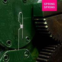 SPRING SPRING|SPRING WEAR lock(ピアス)SILVER