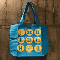 LITTLE CALIFORNIA|heath ceramics tote bag/blue