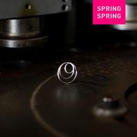 SPRING SPRING SPRING WEAR ripple(イヤリング)SILVER