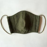 TMN FACTORY | 遠州織物マスク(杉浦テキスタイル/グリーン) M