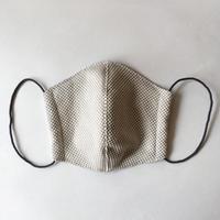 TMN FACTORY | 刺し子マスク(ライトチャコール) S