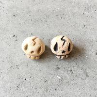 PUNCH LAB | 陶器ブローチ(小)スカル