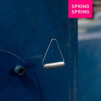 SPRING SPRING|SPRING WEAR circuit(ピアス)SILVER