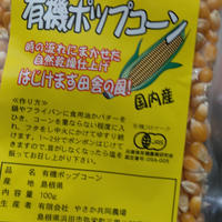 有機ポップコーン(島根産・100g)