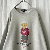 "90's "" POLO BEAR "" POLO SPORT by Ralph Lauren Sweat Shirts"