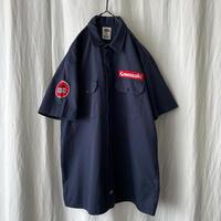 """ Dickies "" "" NGK Spark Plugs KAWASAKI "" S/S Work Shirts"