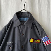 """"""" CINTAS """" """" ESTES """" S/S 刺繍 Work Shirts"""