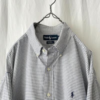 """ Polo Ralph Lauren "" "" BLAIRE "" Cotton Check Shirts"