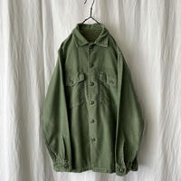 """60′s """" US ARMY """" OG 107 Cotton Sateen Shirts"""