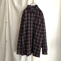 """ POLO SPORT "" Wool × Polyester Check Shirts"