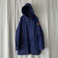 """90′s """" Polo Ralph Lauren """" Cotton Shell Mountain Jacket with Leather Patch"""