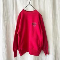 "90′s "" Champion "" R/W 刺繍 Logo Sweat Shirts"