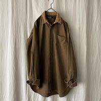 "90′s "" Polo Ralph Lauren "" Brown Cotton × Corduroy Shirts"
