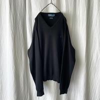 """ Polo Ralph Lauren "" 100% Pima Cotton V-neck Knit"