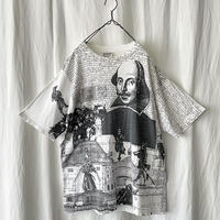 """90′s """" WILDWOOD PRODUCTION """" """" Shakespeare """" Printed T-Shirts  made in usa"""