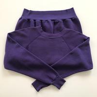 """"""" ULTRA SWEATS """" Purple Sweat Shirts made in usa"""