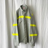 """ DI′ Carmo "" "" Tenaris "" L/S Cotton B.D. Work Shirts with Reflector"