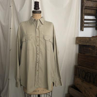 40-50s Cotton Poplin Military Shirts