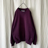 """90′s """" Russell Athletic """" High Cotton Sweat Shirts Purple made in usa"""