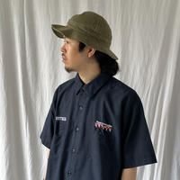""""""" Uni Weave """" """" Paver Connection """" S/S 刺繍 Work Shirts"""