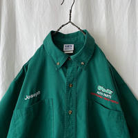 """ HPI "" "" O′Reilly Auto Parts "" S/S 刺繍 B.D. Work Shirts"