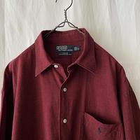 """ Polo Ralph Lauren "" "" CRANE "" Cotton × Linen Check Shirts"