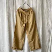 "Deadstock 90′s "" Eddie Bauer "" Linen × Cotton Easy Pants"