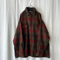 "90′s "" Polo Ralph Lauren "" WRISTON "" Wool Shadow Check Shirts"