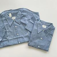 "70′s N.O.S "" BIC MAC "" S/S Chambray Shirts"
