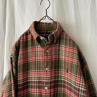 """90's """" Polo Ralph Lauren """" BLAIRE"""" Cotton Check Flannel Shirts"""