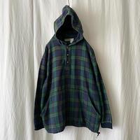 """ L.L.Bean "" Cotton Flannel Pullover Parka"