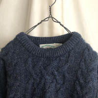 """"""" Fisherman Knit """" made in IRELAND"""