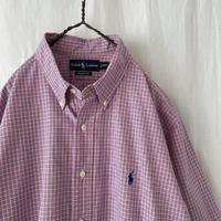 """ Polo Ralph Lauren "" S/S Cotton Check Shirts"