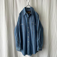 """80′s """" CHAPS by Ralph Lauren """" Chambray Striped Shirts"""
