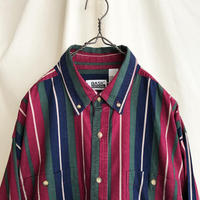 """80-90′s """" BASIC EDITIONS """" Cotton Striped Shirts"""