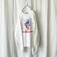 "1986-87 "" Walt Disney World "" 15YEARS Sweat Shirt  made in usa"