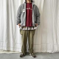"""Deadstock 90′s """" GAP × Eddie Bauer """" 刺繍 LOGO Fleece Swing Top size M"""