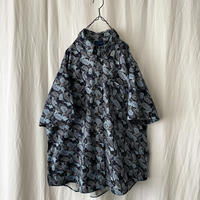 """"""" TOWN CRAFT """" Leaf Cotton S/S Shirts"""