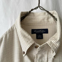 """"""" Brooks Brothers """" Woven in italy Cotton Check Shirts"""
