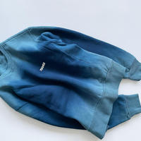 """"""" 700 FILL """" Small Payment Logo Tie Dye Crewneck Hand Dyed in Los Angeles size M"""