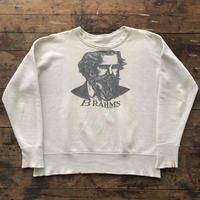 "60's "" BRAHMS "" Sweat Shirts"