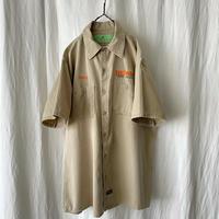 """ RED KAP "" "" MERIT "" S/S 刺繍 Cotton Work Shirts"