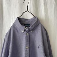 """ Polo Ralph Lauren "" Cotton Check Shirts"