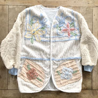 Remake Vintage Sheets Cardigan