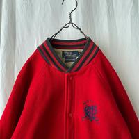 "90's "" Polo Ralph Lauren "" Wool Stadium Jacket made in USA"